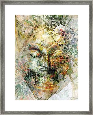 Abstraction 482-10-13 Marucii Framed Print