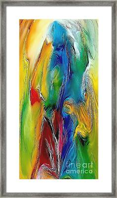 Abstraction 591-11-13 Marucii Framed Print