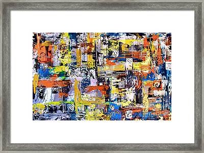 Abstraction 759 - Marucii Framed Print