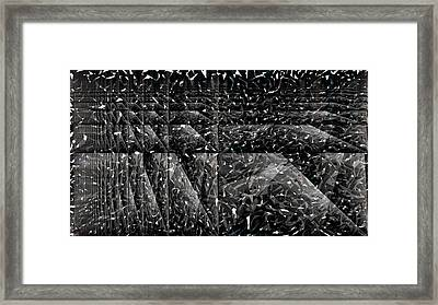 Abstraction Framed Print by Bobbie Barth