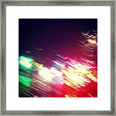Abstraction Distraction For Mka Framed Print by Toni Martsoukos
