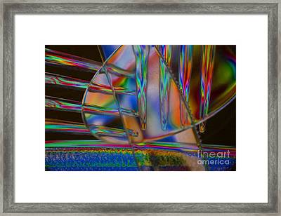 Abstraction In Color 1 Framed Print