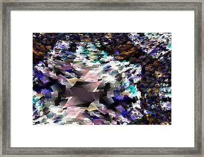 Abstraction Framed Print by Jeff Swan
