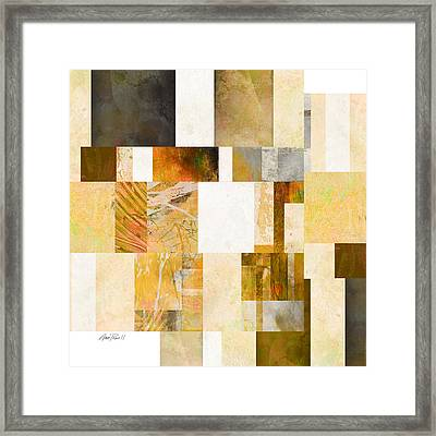 Abstraction On A Square One  Framed Print