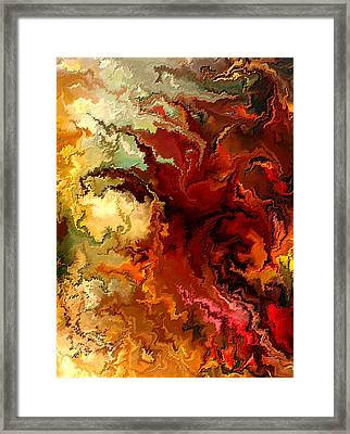 Abstraction Surrealist By Rafi Talby Framed Print by Rafi Talby