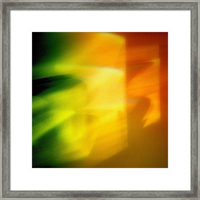 Abstraction Framed Print by Tom Druin