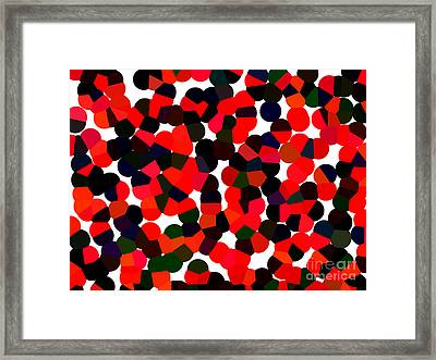 Abstractionism Framed Print