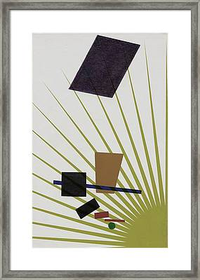 Framed Print featuring the photograph Abstractions by Allen Beilschmidt