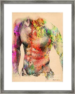 Abstractiv Body -2 Framed Print