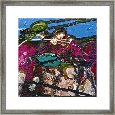 Abstracts 14 - Seascapes Framed Print