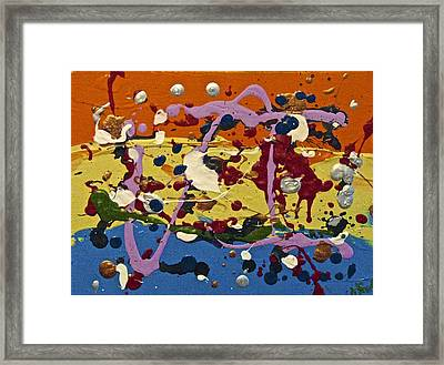 Abstracts 14 - The Circus Framed Print