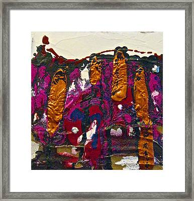 Abstracts 14 - The Deep Dark Woods Framed Print by Mario Perron