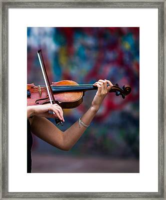 Abstracts From Vivaldi - Featured 3 Framed Print