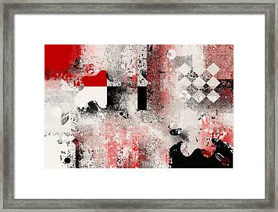 Abstracture - 103106046a Framed Print by Variance Collections