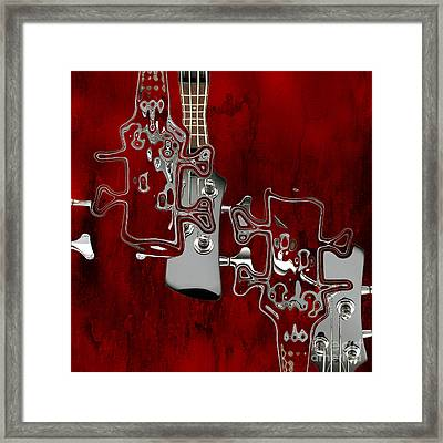 Abstrait En Do Majeur - S02t02a Framed Print by Variance Collections