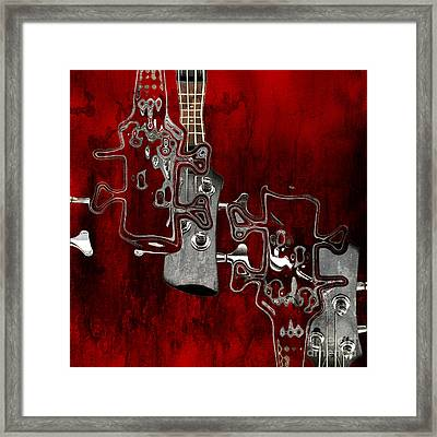 Abstrait En Do Majeur - S02t02b Framed Print by Variance Collections