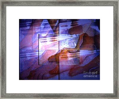 Abstrait3 Framed Print
