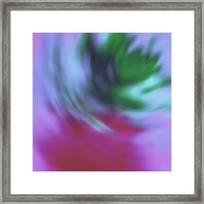 Abstrakte Impressionen Framed Print by Steve K