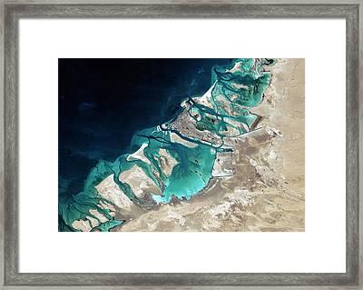Abu Dhabi Framed Print