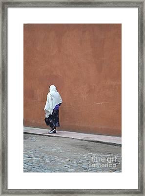 Abuela Framed Print by Brian Boyle