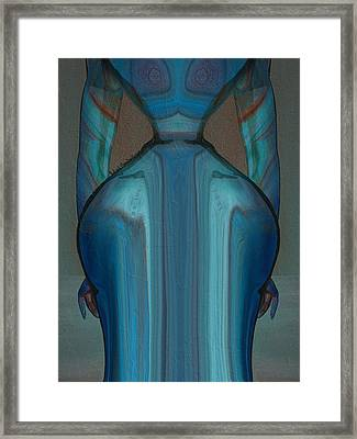 Abuela Framed Print by Robert Maestas