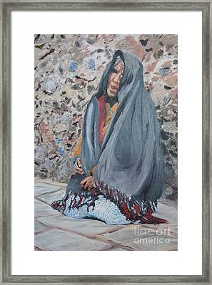 Abuela Solamente  Framed Print by Brian Boyle