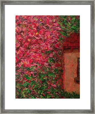Abuela's Casita  Framed Print by D August