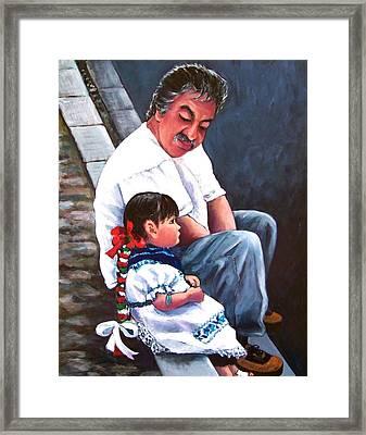 Abuelito Framed Print