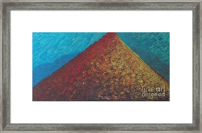 Framed Print featuring the painting Abundance by Ilona Svetluska