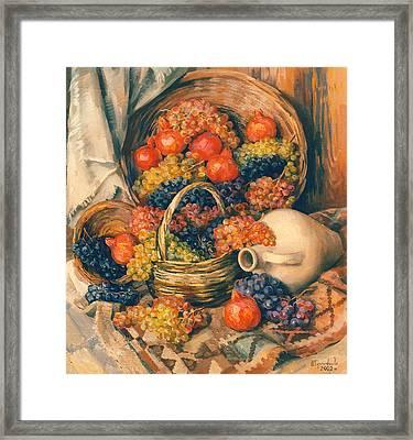 Abundance Of Tastes Framed Print by Meruzhan Khachatryan
