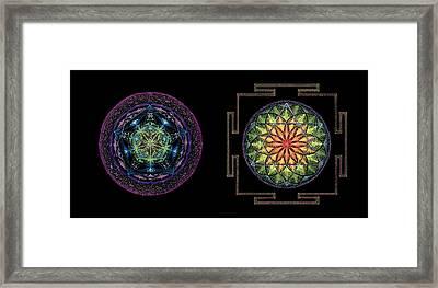 Framed Print featuring the painting Abundance  Prosperity by Keiko Katsuta