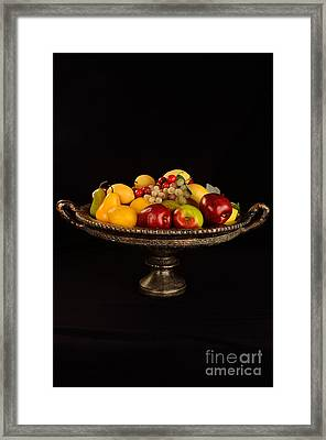 Abundant Fruit Framed Print by Timothy OLeary
