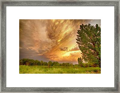 Abyss In The Sky Framed Print by James BO  Insogna
