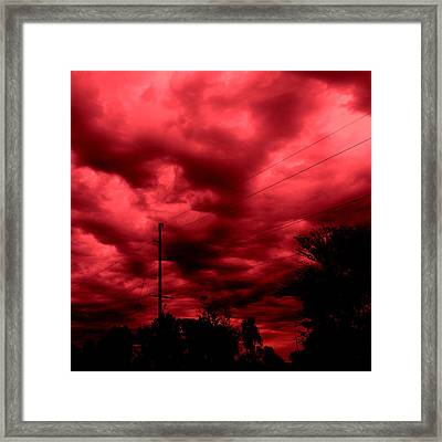 Abyss Of Passion Framed Print
