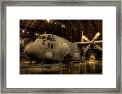 Ac-130 Gunship Framed Print