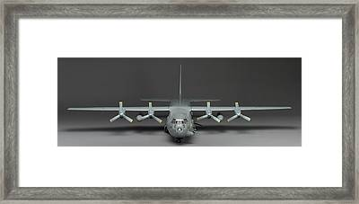 Ac 130 Gunship Framed Print by Robert Mollett
