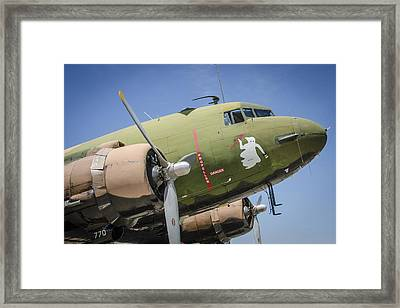 Framed Print featuring the photograph Ac-47 Spooky by Bradley Clay