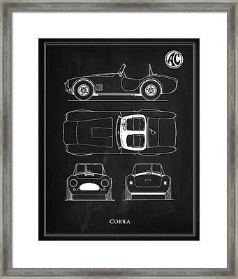 Ac Cobra Framed Print by Mark Rogan