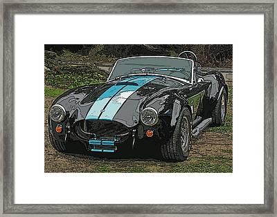 Ac Cobra Framed Print by Samuel Sheats