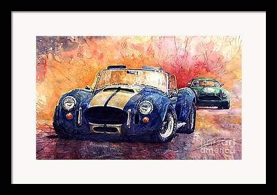 Classic Cobra Framed Prints
