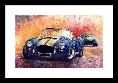Classic Car Framed Prints