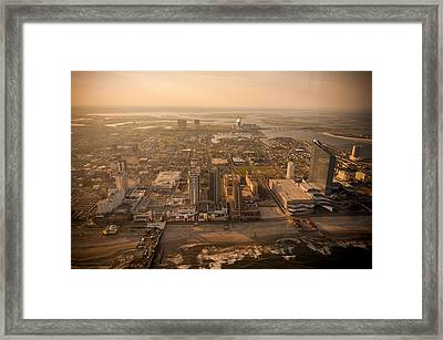 Ac Fly By Framed Print by Kristopher Schoenleber
