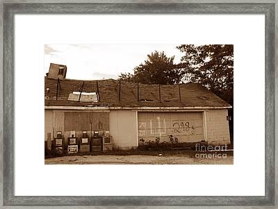 Ac Repairman Wanted Framed Print by Skip Willits