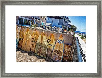 Acacia Street Framed Print by Ann Patterson