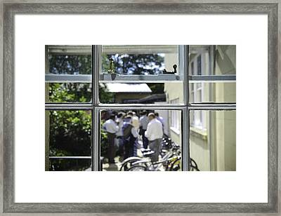 Academic Conference At The Ertegun House In Oxford Framed Print