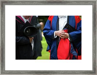 Academic Dress Framed Print