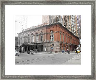 Academy Of Music Framed Print