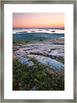 Acadia Morning Framed Print by Patrick Downey