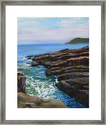 Acadia National Park  Framed Print by Jack Skinner
