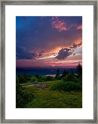 Acadia Sunset 47150 Framed Print